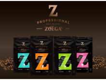 Zoégas Espresso sortiment med överskådlig design