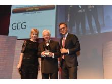 Christoph Kahl, Jamestown  US-Immobilien, Köln, erhält den Lifetime Award