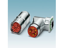 New M40 hybrid connectors for signal, data, and power transmission
