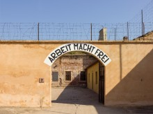 Terezin-Theresienstadt Concentration Camp Gate