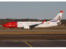 H.C. Andersen på nyt Norwegian-fly