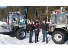 Axima ny återförsäljare för Vimek skogsmaskiner