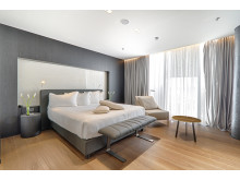 Elegant rooms at the new Maritim Hotel Plaza Tirana in Albania.
