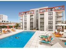 allsun Hotel Amarac Suites Poolterrasse
