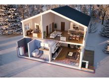 Genomskärning hus-YAA