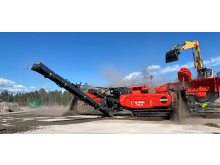 Terex Finlay I120RS i produktion