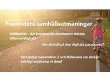 Framtidens samhällsutmaningar i Almedalen