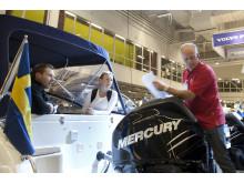Båtmässan Motor Mercury