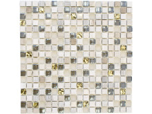 Mosaik Eventyr Tommelise Guld 30x30, 1.148 kr. M2.
