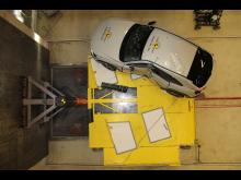 Mazda MX-30 - Side Pole test 2020 - after crash