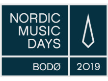 Logo Nordic Music Days 2019, Bodø