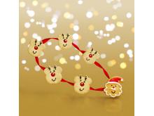 Costa Coffee Santa And Reindeer Biscuits