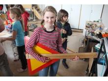 På Kolla kultur får man lära sig bygga spelbara instrument av skrot
