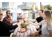 """Genießen am Kieler Bootshafen - """"Käse trifft Wein"""""""