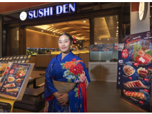 Sushi har blitt veldig populært i Thailand