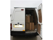 HMRC seized cigarettes from this van