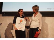 """Verleihung des Digital PR Award in der Rubrik """"Newcomer des Jahres"""" - 3"""