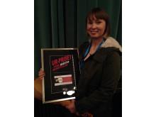 UR-priset för bästa kortfilm 2015 går till HILBES BIIGÁ i regi av Marja Bål Nango.