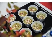 Grönkålssoppa med Lantknäcke