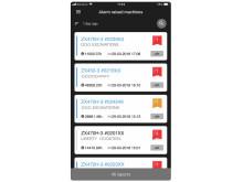Hitachi ConSite pocket app