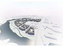 Den nye blågrønne bydelen i Førde