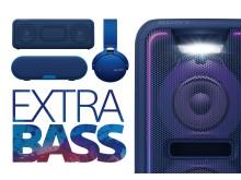 Extra Bass groupshot