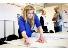 Kajsa Lindström från Beteendelabbet  höll i workshopen för montörer på Asecs.