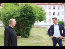 Blockheizkraftwerk der Bayernwerk Natur gesegnet