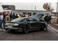 Ford Mustang Bullitt på Sjællandsringen
