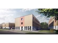 Studentenapartments, Potsdam-Golm