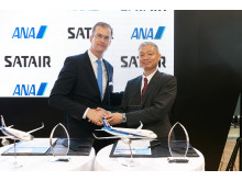 Signing ceremony at Singapore Airshow