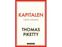 Omslag: Kapitalen i det 21. århunder av Thomas Piketty