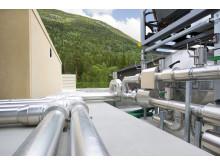 Energispesialisten Schneider Electric har sammen med Green Mountain bygget datasenter på Rjukan. Fotograf: Ina Wesenberg