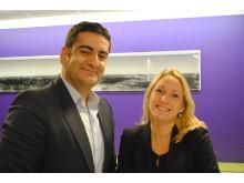 Farhad Kakavand och Lisa Callert