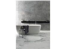 Badrumstrender 2020; Marble Boutique, stora plattor för golv och vägg, CC Höganäs