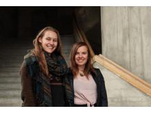 Sophie Teske und Maxine Fowé –Vorbereiterinnen der internationalen Tagung ‹Challenges of our time› (Jugendsektion am Goetheanum)