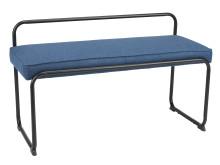 Bænk TURN blå-sort (499 DKK)