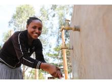 14-åriga Mitikie från Etiopien
