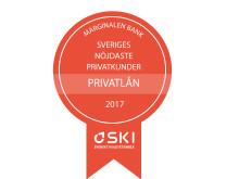 SKI Medaljer privatlån 2017