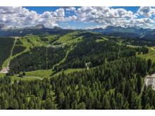 Grüne Wiesen ebenso wie anspruchsvolle Höhenwege, die Region Alta Badia ist die ideale Umgebung für einmalige Trailruns