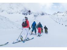 Für Skifahrer ist das GletscherTestival der ideale Auftakt in die neue Saison.