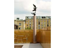 """Takterrassen, Axel Wallenberg """"Fåglarna"""" 1940-tal"""
