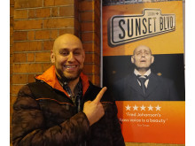 Fred Johanson Sunset Boulevard, West End London 2016