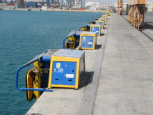 Image (2) of Cavotec MoorMaster™ MM200C units at the Port of Salalah, Oman