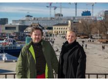 Geir Haraldseth og Randi Godø