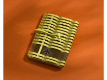 Yellow passport holder