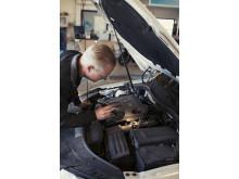 Bilbesiktning - högupplöst