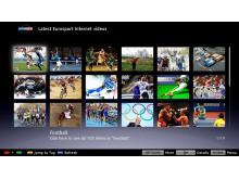 Eurosport bei BRAVIA Internet Video