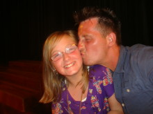 Jodie with  dad