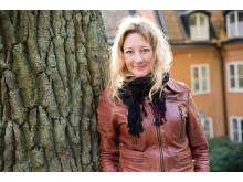 """Johanna Bäckström Lerneby, vinnare år 2015 i kategorin Årets Berättare för reportaget """"Att skapa ett monster""""."""